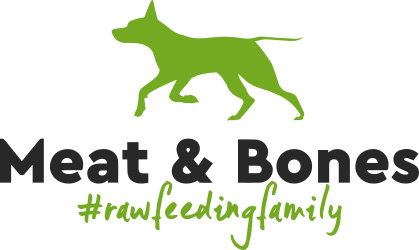 Logo of Meet & Bones - Dog food service website