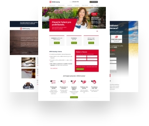 Nova Leasing landing pages
